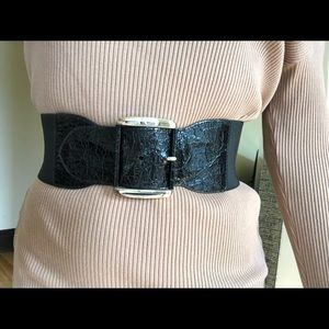 Express Accessories - EXPRESS Black Belt